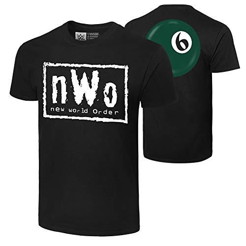 WWE Authentic Wear NWO Syxx Ball T-Shirt Black Extra Large