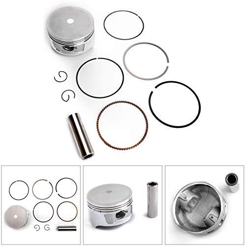 Artudatech Piston Ring Kit +0.50mm For HONDA HELIX CN250 SCOOTER 86-2007 Bore Size 72.50mm