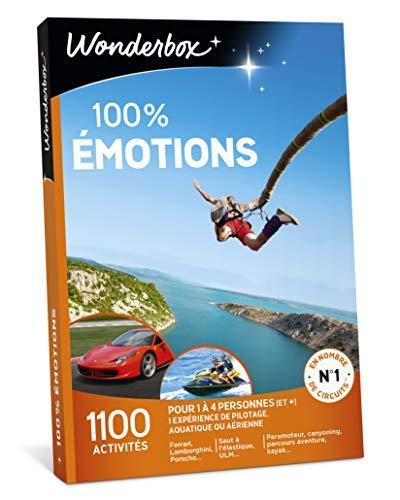 Wonderbox – Coffret cadeau sensation pour homme – 100%...