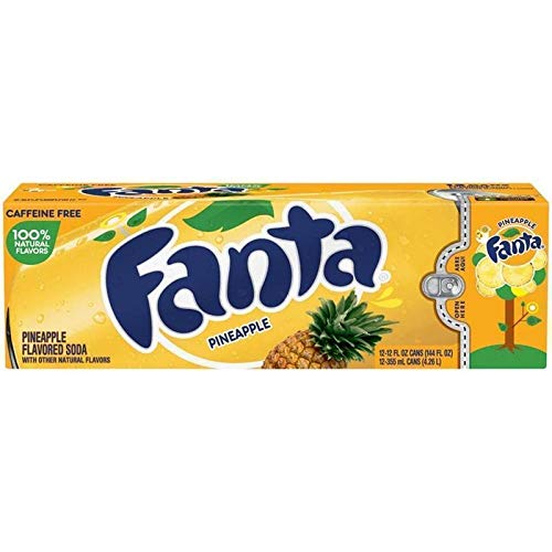 Fanta Pineapple 355 ml (Pack of 12) …