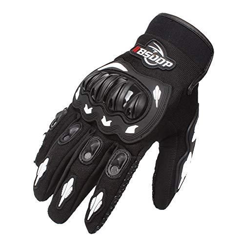 Comfortabele Outdoor Handschoenen Motorhandschoenen Volledige Vinger Racing Handschoenen Outdoor Sport Bescherming Elektrische Fiets Rijden Cross Dirt Bike Handschoenen Motocross M Kleur: wit
