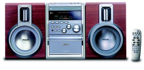 Philips MCM 11 - Microcadena de 300W, rojo (importado)