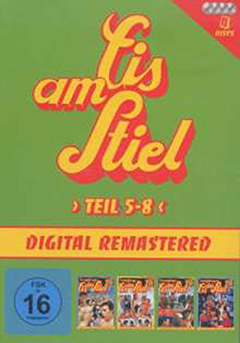 Eis am Stiel 5-8 Jumbo Amaray (exkl.Alpha) [4 DVDs]