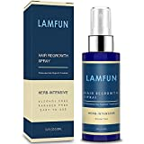 Hair Growth Spray, LamFun Professional Hair Loss Treatment, 5% Minoxidil Solution for Hair Loss, Thinning, Regrowth and Balding, Topical Treatment for Men and Women, Alcohol Free and Non Oily, 100ml