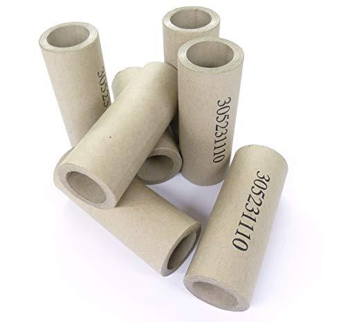 24,5mm Papphülsen, cardboard, heavy paper tubes, parallel gewickelt, sehr fest, verschiedene Stückzahlen auswählbar (25)
