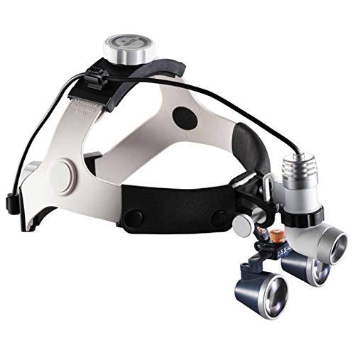WANG 3,5X Galileo Gafas Lupa Dental Médico Quirúrgica lupas dentales con cirugía Faro Operación Lupa