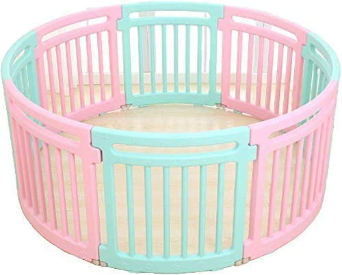 Baby playpen,Round Toddler Playpen Children Crawl Kids Activity CentrSafety Play Yard Baby Fenced Play Area Home Indoor Baby's Christmas Best Gift