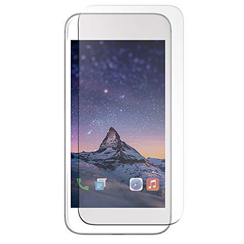 Mobilis - Protector de pantalla de cristal templado antiarañazos para iPhone 8,...