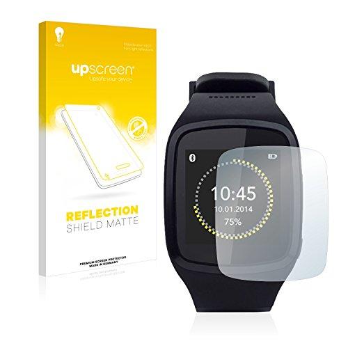 upscreen Entspiegelungs-Schutzfolie kompatibel mit MyKronoz ZeSplash – Anti-Reflex Bildschirmschutz-Folie Matt