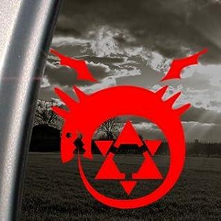 Fullmetal Alchemist Homunculus Die Cut Decal Vinyl Sticker