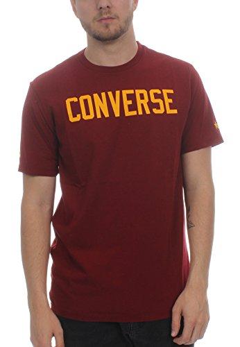 Converse Essentials Graphic tee - Camiseta, Hombre, Rojo(Team Red)