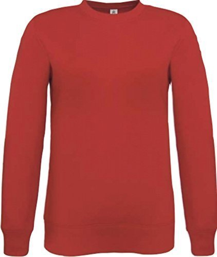 Shirtinstyle homme Pull basic Unisexe SETIN - rouge, XL