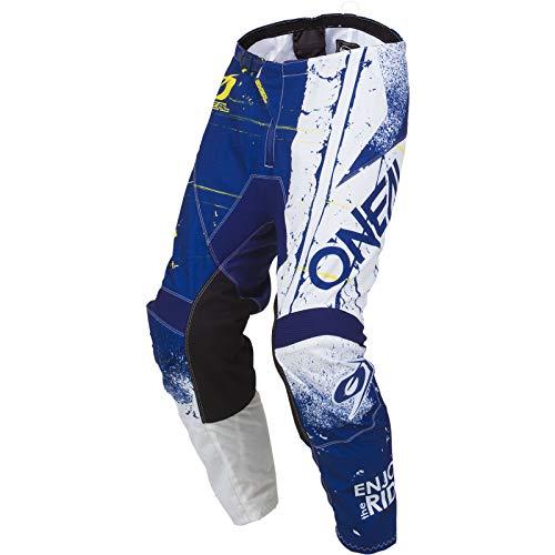 O'NEAL Element Shred Youth Kinder MX DH MTB Pant Hose lang blau/weiß 2019 Oneal: Größe: 24 (116-134)