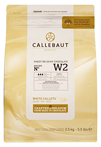 CALLEBAUT Select 28% Chocolat Blanc 2,5 kg