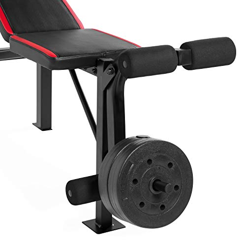 Cap Strength Standard Combo Bench with 100 lb Weight Set