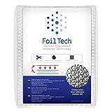 Radiatore Foil Isolante Riflettente Isolamento Radiatore Coperture per Casa - 5m x 0.6m - 3.6mm Bubble Foil - Riduce la perdita di calore - Sicuro e Durevole - Facile da installare Autoadesivi