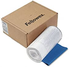 $54 » Fellowes : Powershred Shredder Bags for Models SB-95C, DM17C, Clear, 100 Bags & Ties/CTN -:- Sold as 2 Packs of - 100 - / - Total of 200 Each