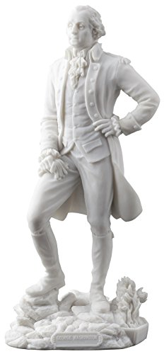 George Washington Standing Statue Sculpture - Founding Father