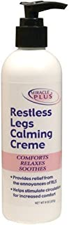 Restless Legs Calming Creme to Help Combat Fatigue, Irritability, Itching, Crawling, Shaking. (8oz)