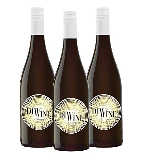 Diwine Eleven 11º Vino Frizzante Espumoso caja de 3, Valdecuevas, 750 ml, x3
