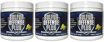 Sulfur Defense Plus  Organic Sulfur & Vitamin C   3 Pack Special