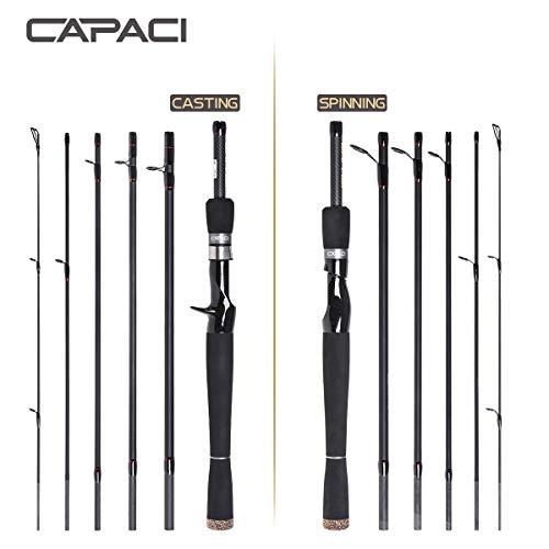 CAPACI Travel Spinning Rod