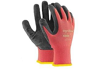 scheda ajs ltd 24paia di guanti da lavoro, rivestiti in lattice durevole, con salda presa, adatti per giardinaggio ed edilizia (xl-10)