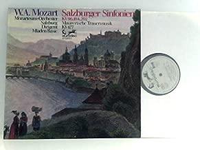 Mozarteum Orchester Salzburg* / Basic* ?– Sinfonien KV 96, 184, 202 / Maurerische Trauermusik KV 477