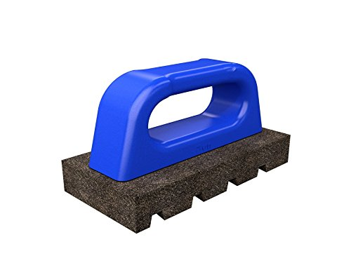 Bon Tool 12-280 Rub Brick - Fluted 6' X 3' X 1' - 60 Grit - Plastic Handle