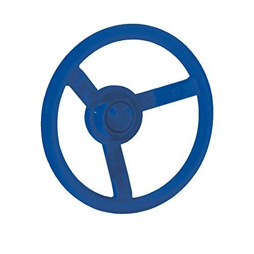 WICKEY Lenker Lenkrad Steuerrad für Spielturm Spielanlage, Ø300mm, blau
