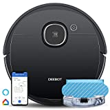 Ecovacs Robot Vacuum OZMO920 Robotic Vacuum Cleaner, 2-in-1 with Mop Smart Navi 3.0 Laser Technology, Multi-floor Mapping, Virtual Boundary, Alexa & App Connect for Low-pile Carpets & Hard Floors
