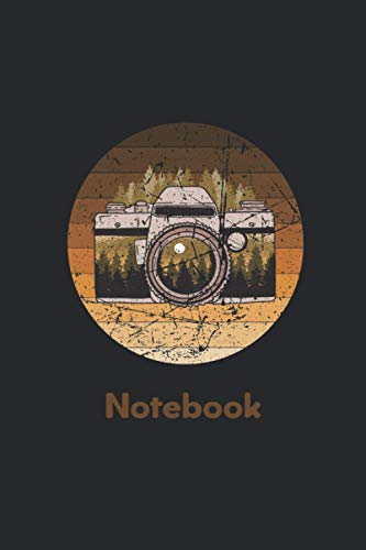 Photographing notebook: Photography Notebook I 120 pages I lined I A5 I Notebook for a photographer, landscape photographer I Entering notes, appointments and ideas.