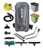 janiLink Jet Force Backpack Vacuum Ultra Quiet & Powerful Commercial Grade