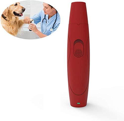 Pelo tijeras de la herramienta de corte for mascotas clavo de la amoladora, USB rápida carga de pequeño a mediano Gatos Perros clavo de la amoladora de recorte, ultra silencioso perro eléctrico lima d