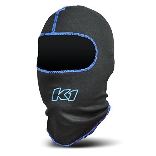 K1 Race Gear Coolmax Vented Head Sock/Balaclava (Black) - 17-CHV-N