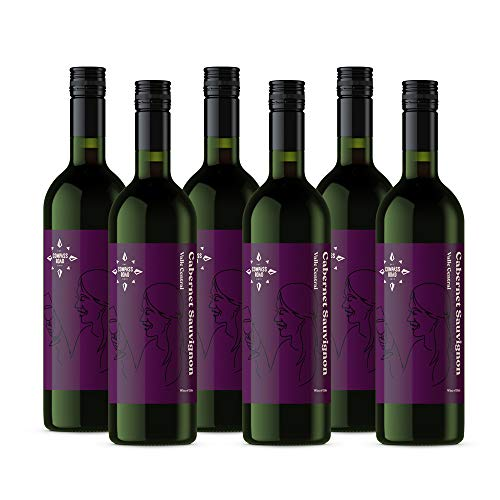 Amazon-Marke - Compass Road Rotwein Cabernet Sauvignon, Chile (6x0,75L)