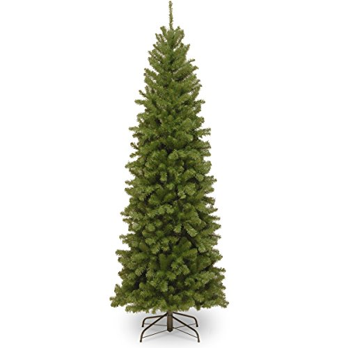 National Tree 6 Foot North Valley Spruce Pencil Slim Tree, 6 ft, 6 ft