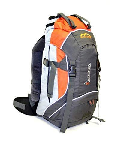 MONTIS McKENLEY 30 Unisex Trekking-Rucksack, Wander-Rucksack & Reise-Rucksack in einem, ermöglicht dank Regenschutz auch Bike- & Campingtouren, im modernen Look mit viel Extras & Belüftungssystem