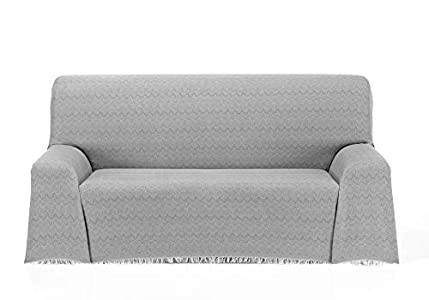 Cardenal Textil Regina Foulard Multiusos, Gris, 180x290 cm