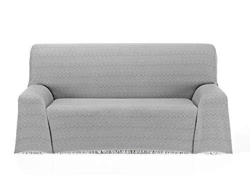 Cardenal Textil Regina Foulard Multiusos, Gris, 230x290 cm