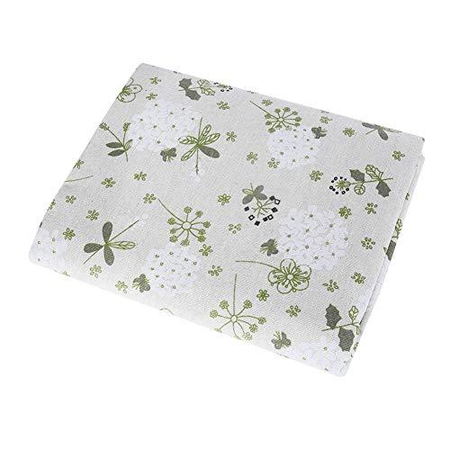 Tovaglie di lino Tovaglia rettangolare di lino Tovaglie di twill di stile semplice, tovaglia rettangolare antipolvere per tavolo da pranzo (90x90)