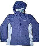 Columbia Women's Waterproof Rain Hooded Jackets (Eve/Faded Sky, Large)