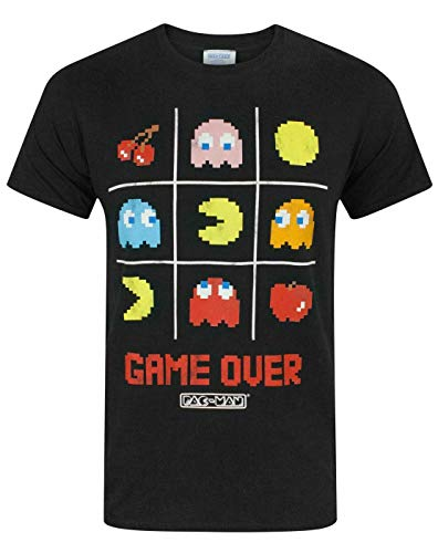 Pacman Game Over Mens T-Shirt in 5 Sizes