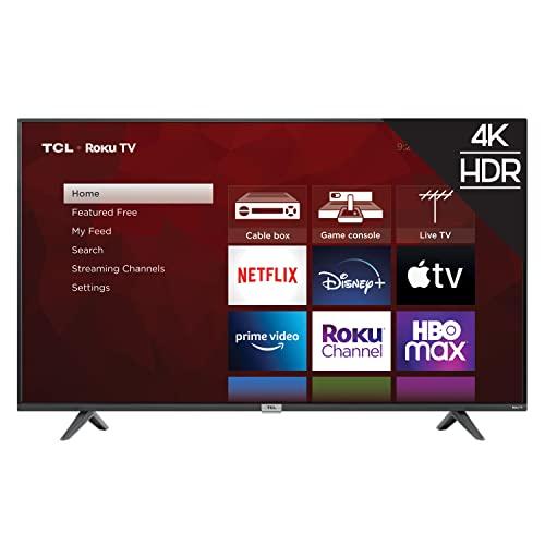 TCL 50-inch Class 4-Series 4K UHD Smart Roku LED TV - 50S435, 2021...
