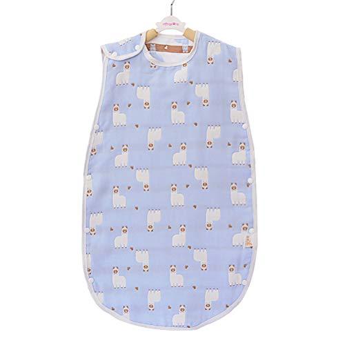 YUESEN Saco de Dormir Bebé Verano Saquito de Dormir para Bebé, Suave y con Cierre Seguridad, Asigna Colores al Azar, 45 * 80 cm, Apto para 3-6 años.
