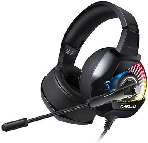 Eummit Headset shopping Gaming Stereo Game RGB LED Headphone with Nippon regular agency