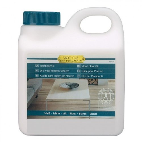 Woca Holzbodenöl weiß 1 Liter
