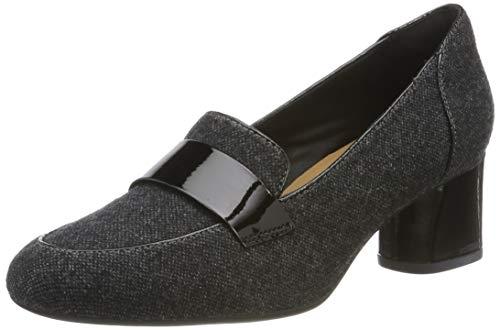 Clarks Un Cosmo Way, Zapatos Tacón Mujer, Gris Grey