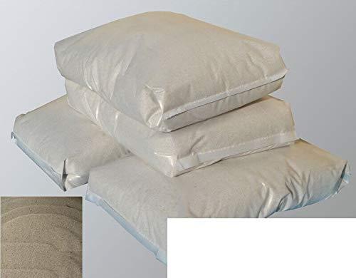 25kg Granulado de cuarzo de arena de sílice 0,7 – 4,5 mm...