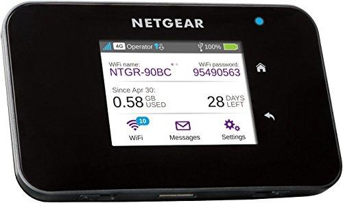 NETGEAR AC810 mobiele WLAN-router / 4G LTE-router (AirCard tot 600 Mbps downloadsnelheid, maximaal 15 apparaten met een hotspot verbinden, overal Wi-Fi instellen, ontgrendeld voor elke simkaart)